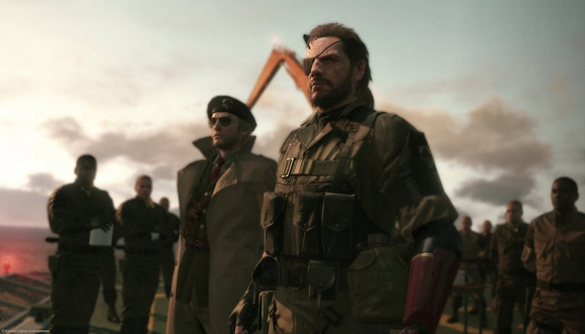 Metal Gear Solid V corpo MGS