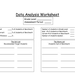 33 Data Analysis Worksheet Answers - Worksheet Resource Plans [ 1275 x 1650 Pixel ]