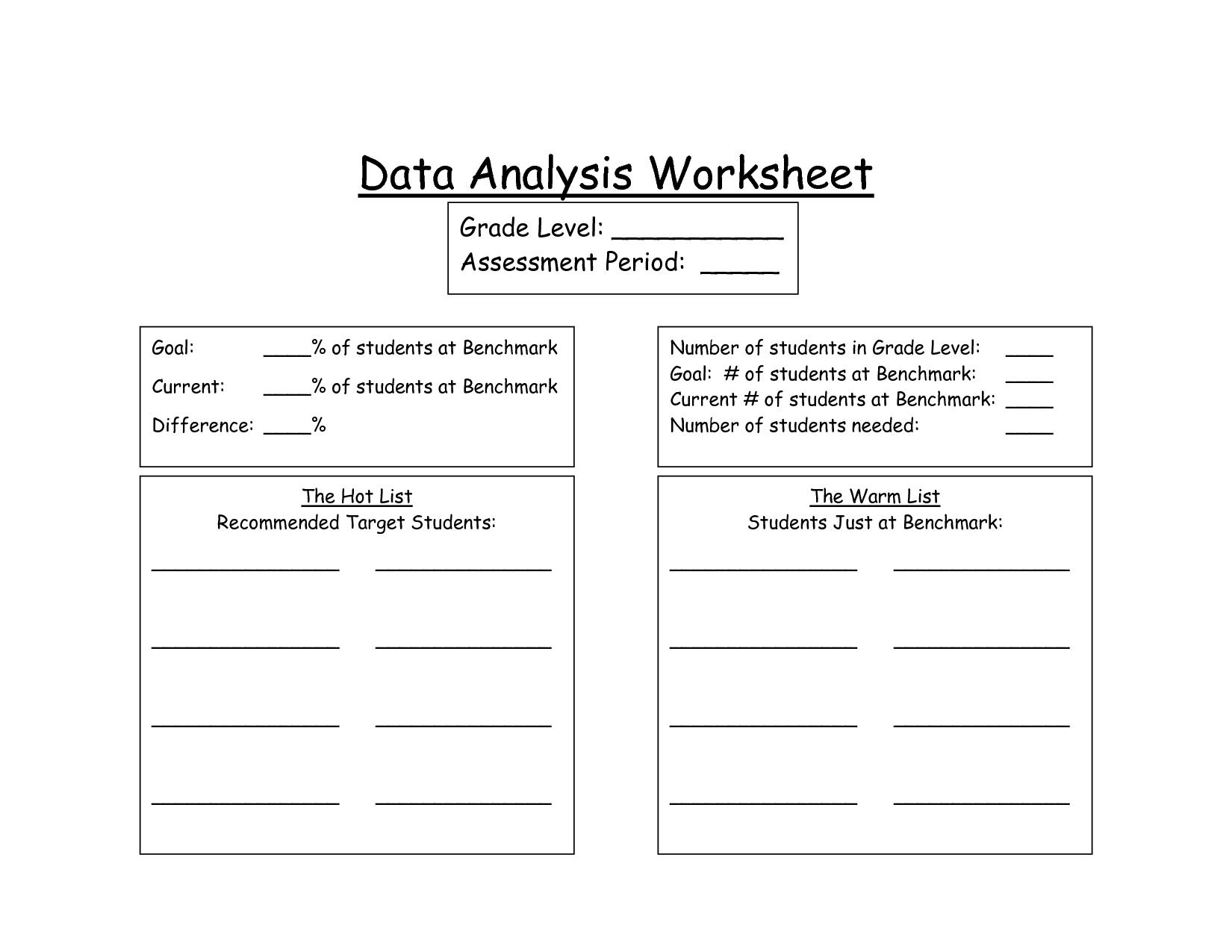 hight resolution of 33 Data Analysis Worksheet Answers - Worksheet Resource Plans