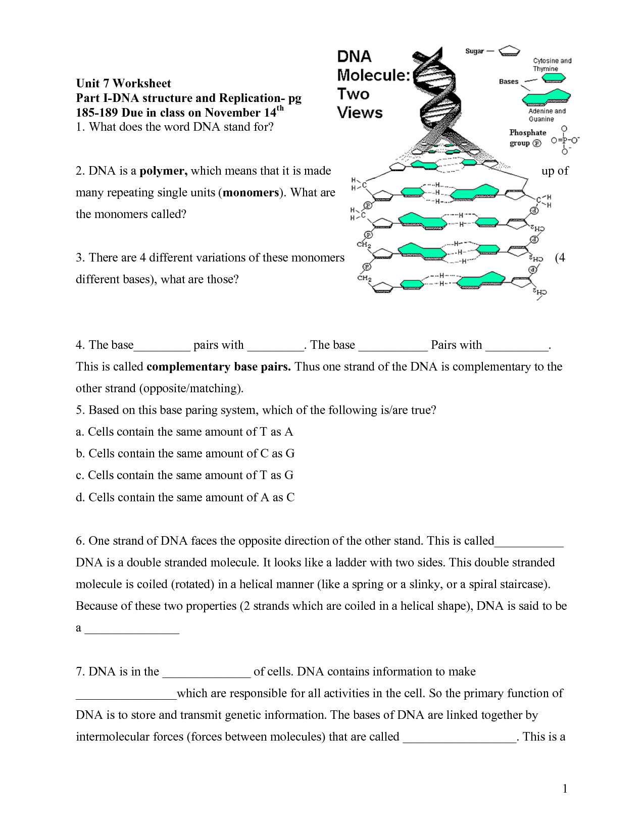 simple diagram of dna replication grasslin defrost timer wiring lorestaninfo answers to rna worksheet 6 biological