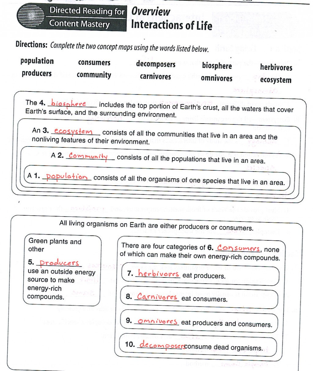 Ecology Worksheets Worksheets Tataiza Free Printable Worksheets And Activities