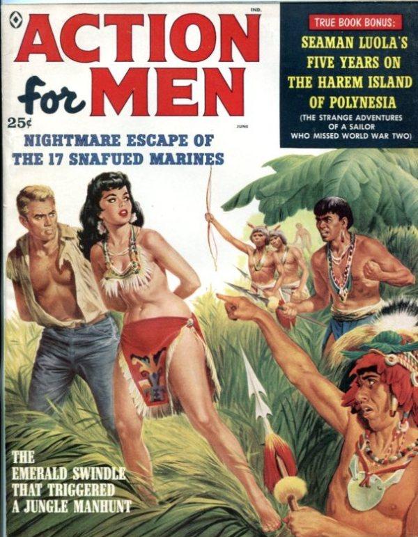 Action For Men June 1959