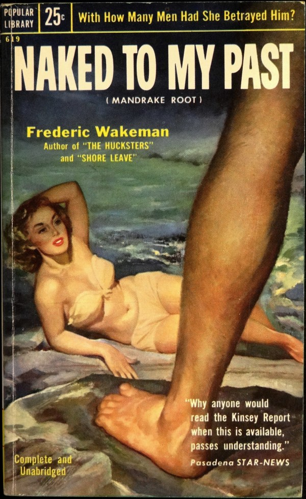 Popular Library 619 (Nov., 1954). First Printing. Cover Artist is Uncredited