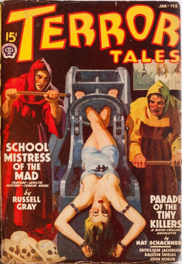 Terror Tales January February 1939
