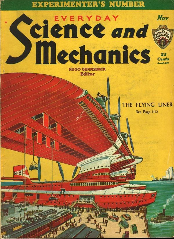 Everyday Science and Mechanics November 1932