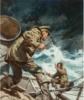 Dangerous Voyage, paperback cover, 1953 thumbnail