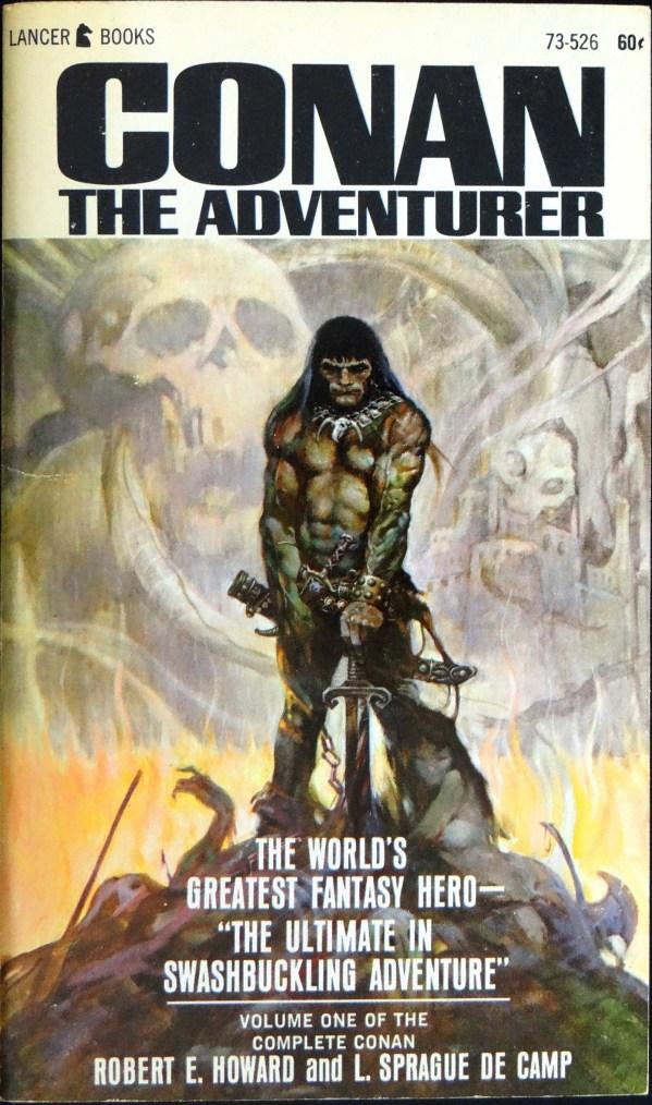 Lancer 73-526 Paperback Original (1966). Cover Art by Frank Frazetta