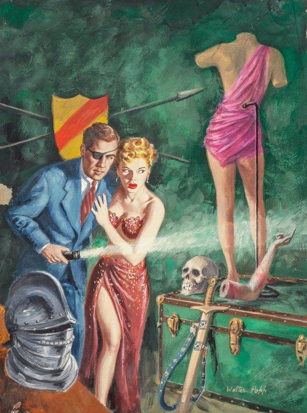 carneys-burlesque-by-steve-harragan-unibook-1953