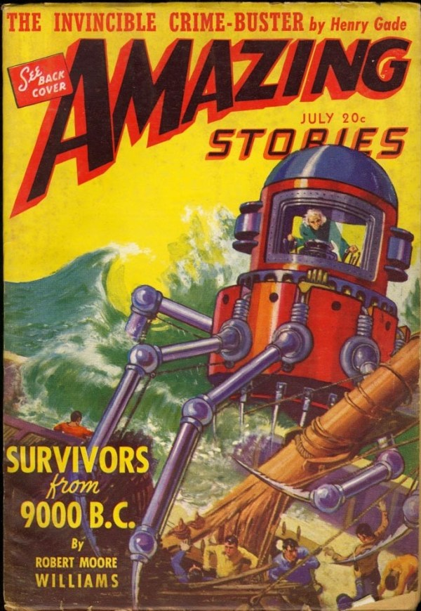 Amazing Stories July 1941