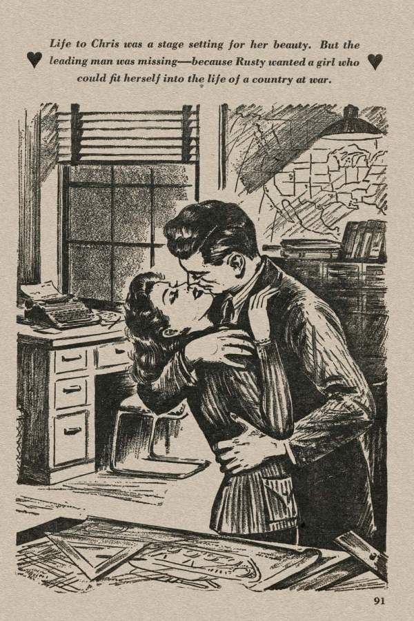 New Love March 1943 - p.91