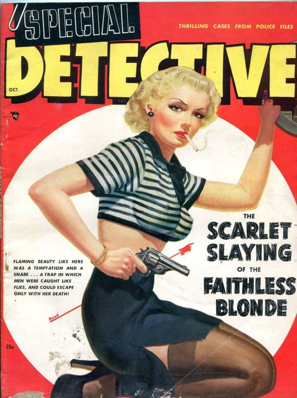 Special Detective October 1948