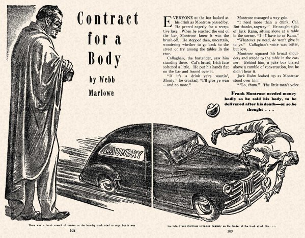 FA 1948-07 - 108-109 Contract For a Body - (illo.) William A. Gray