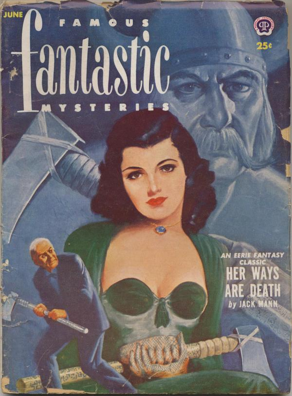 Famous Fantastic Mysteries Combined with Fantastic Novels Magazine, June 1952