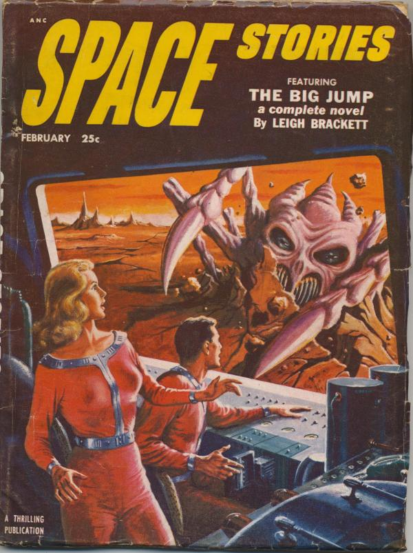 Space Stories, February 1953