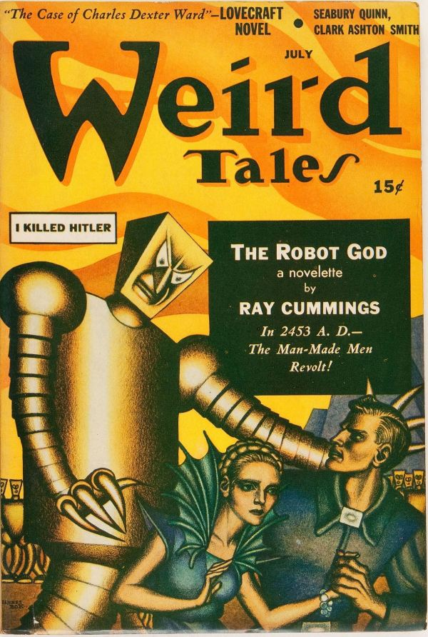 Weird Tales, July 1941