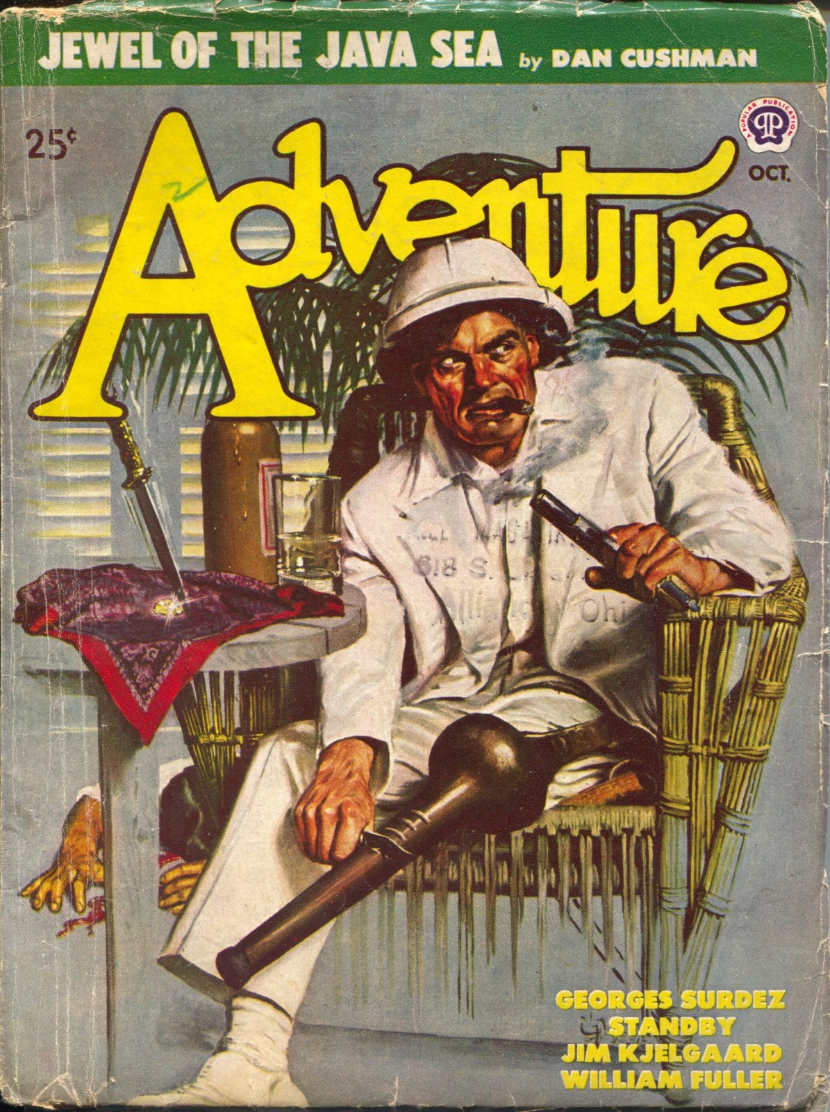 Adventure Magazine Page 5 Pulp Covers