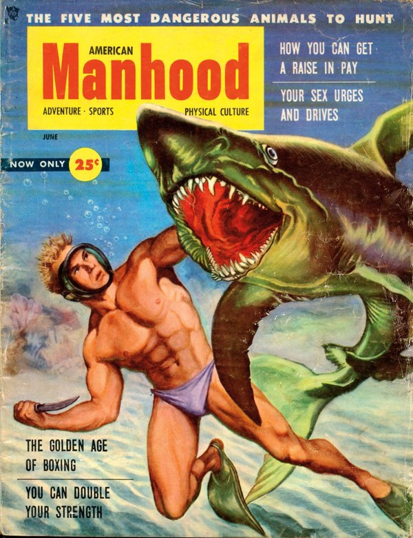 American Manhood June 1953