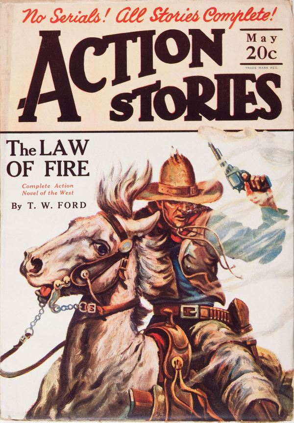 Action Stories May, 1927