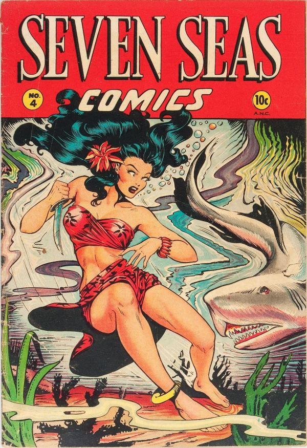 Seven Seas Comics #4 1947