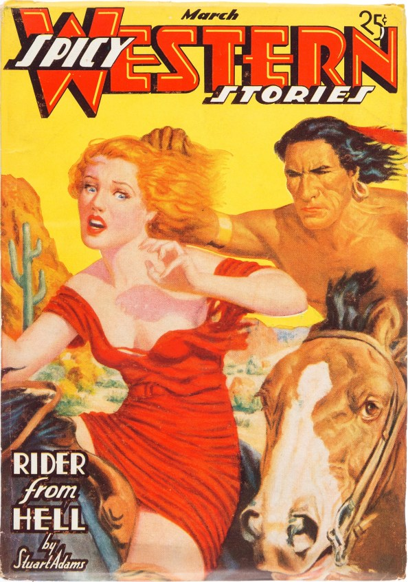 Spicy Western Stories - March 1937