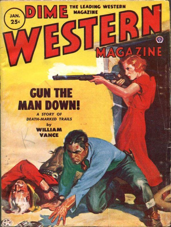 Dime Western Jan 1954