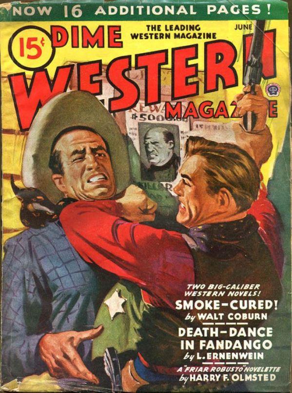 Dime Western June, 1945