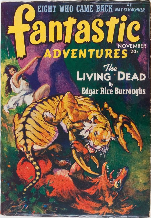 Fantastic Adventures - November 1941