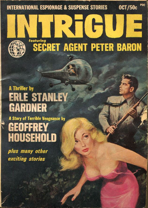 Intrigue October, 1965 (Volume 1, No. 1), Gardner, Erle Stanley; Blochman, Lawrence G., etc.