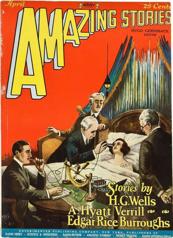 Amazing Stories, April 1927
