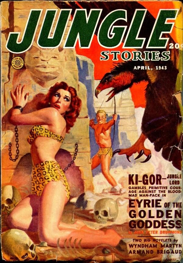 Jungle Stories April 1943