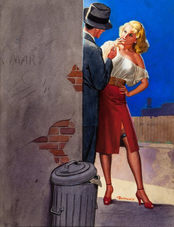 Paula has a Price, paperback cover, 1949