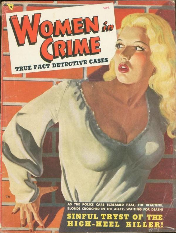 Women In Crime September 1948
