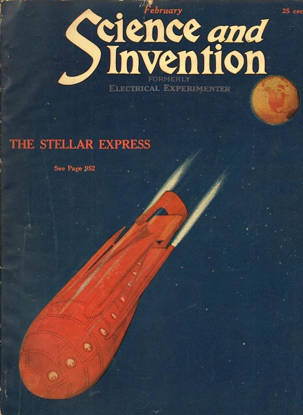 Science and Invention Magazine February 1923