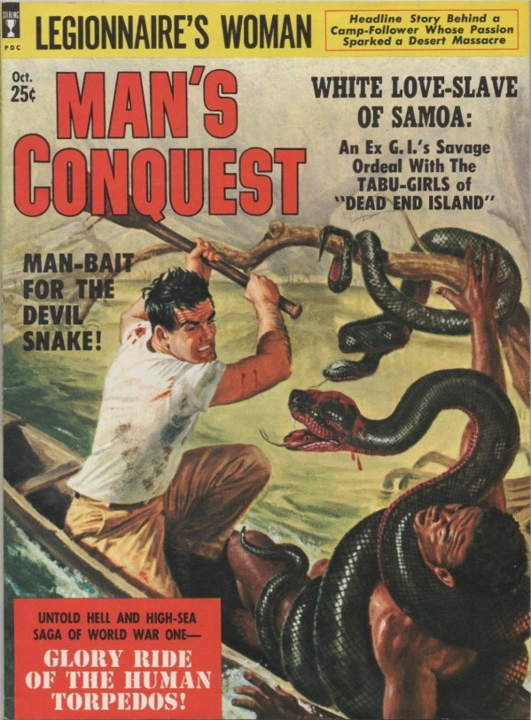 Man's Conquest October 1959