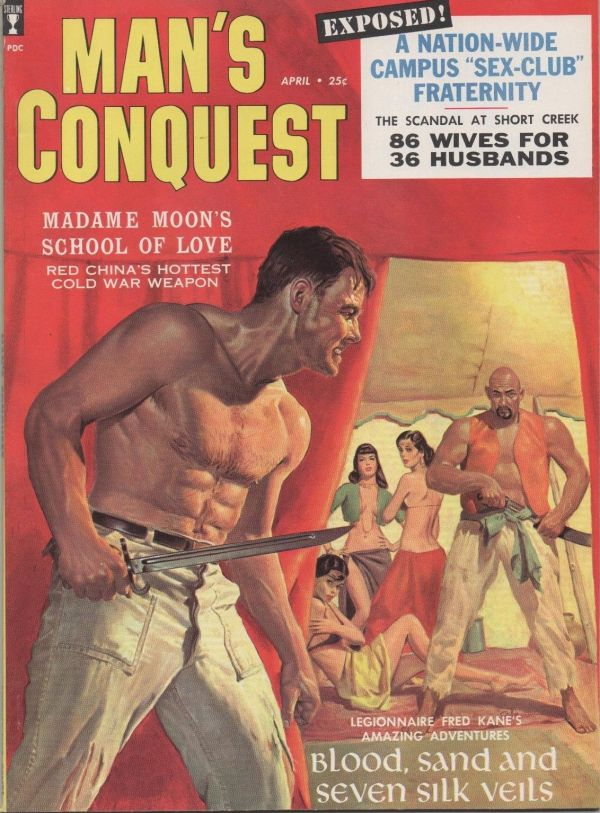 Man's Conquest April 1959