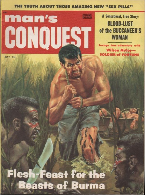 Man's Conquest May 1957