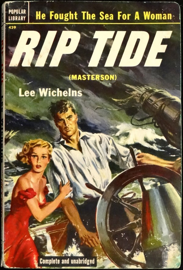 Popular Library 439 (July, 1952). First Printing. Cover Art is Uncredited