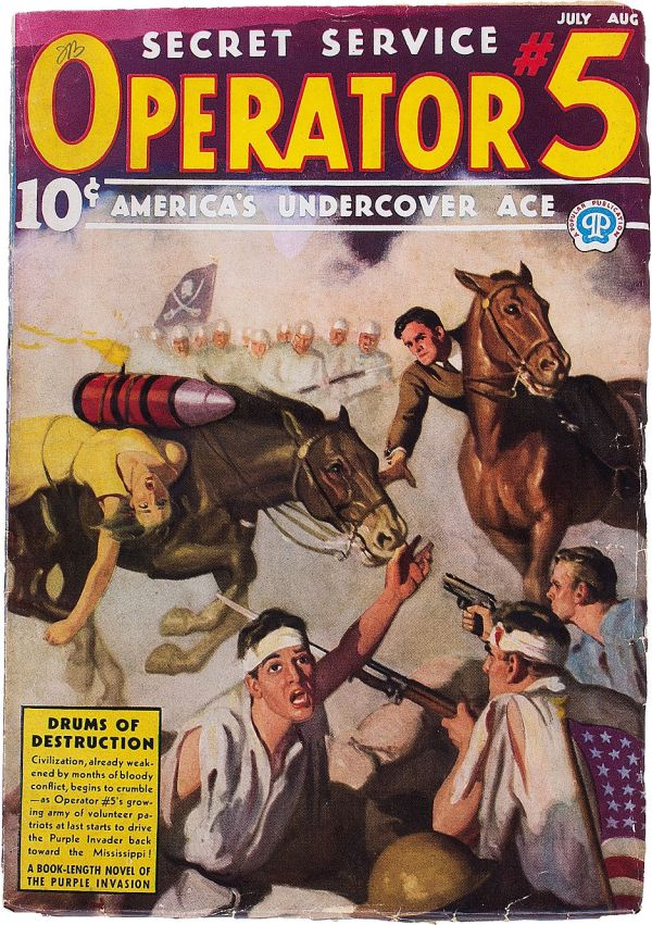 Operator #5 - July-August 1937