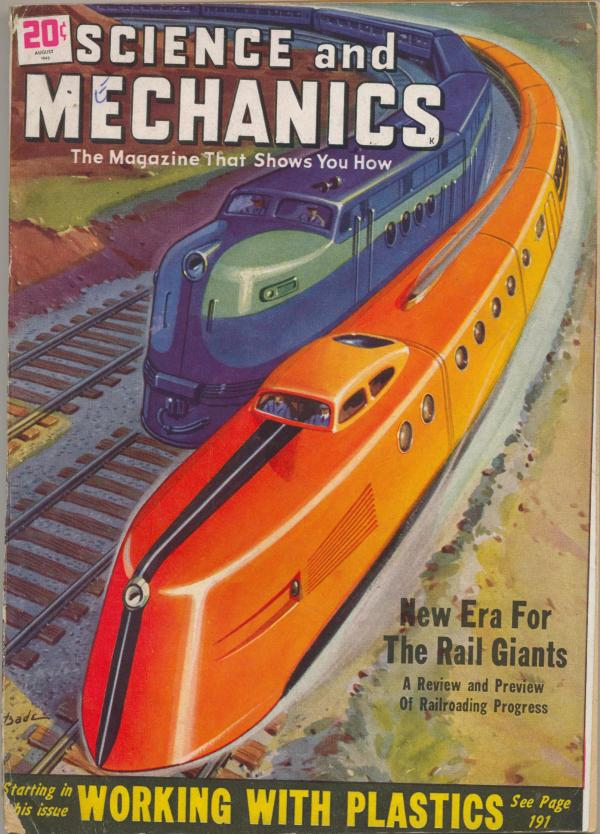 Science and Mechanics Magazine August 1948