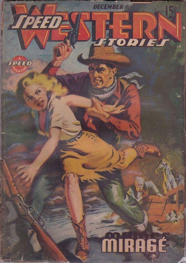 Speed Western Stories December 1943