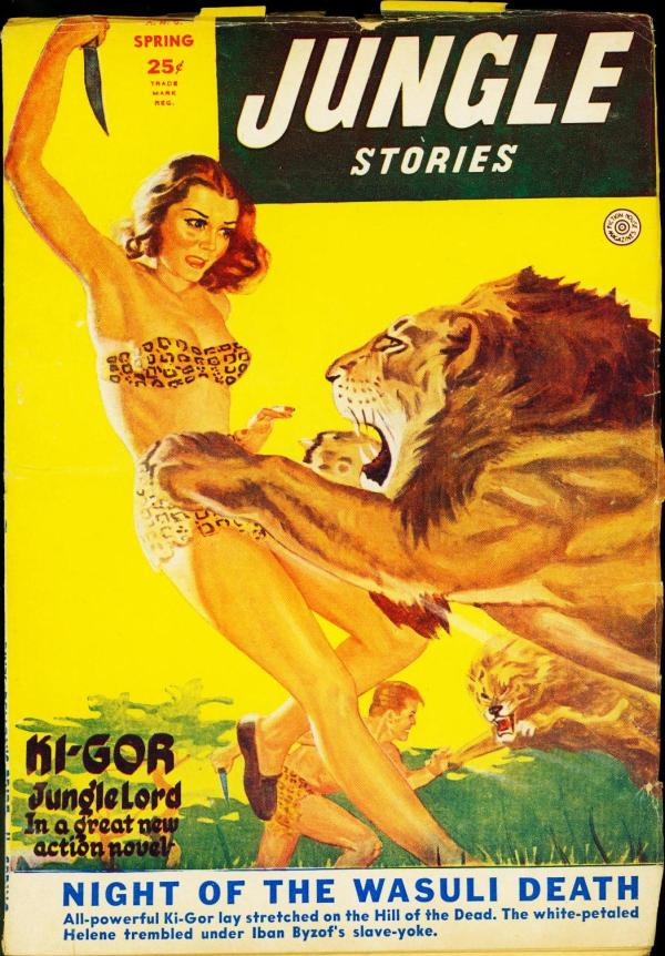 Jungle Stories Spring 1952