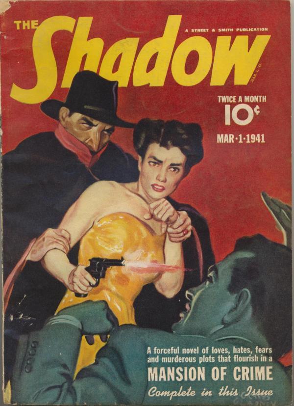 Shadow Magazine Vol 1 #217 March, 1941