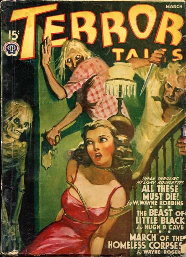 Terror Tales 1941 March
