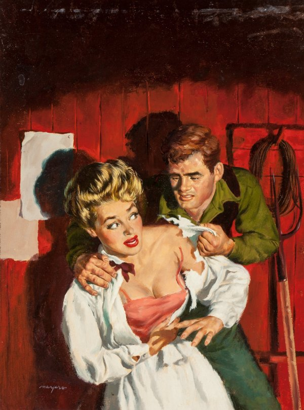 Raw Passions, paperback cover, 1951