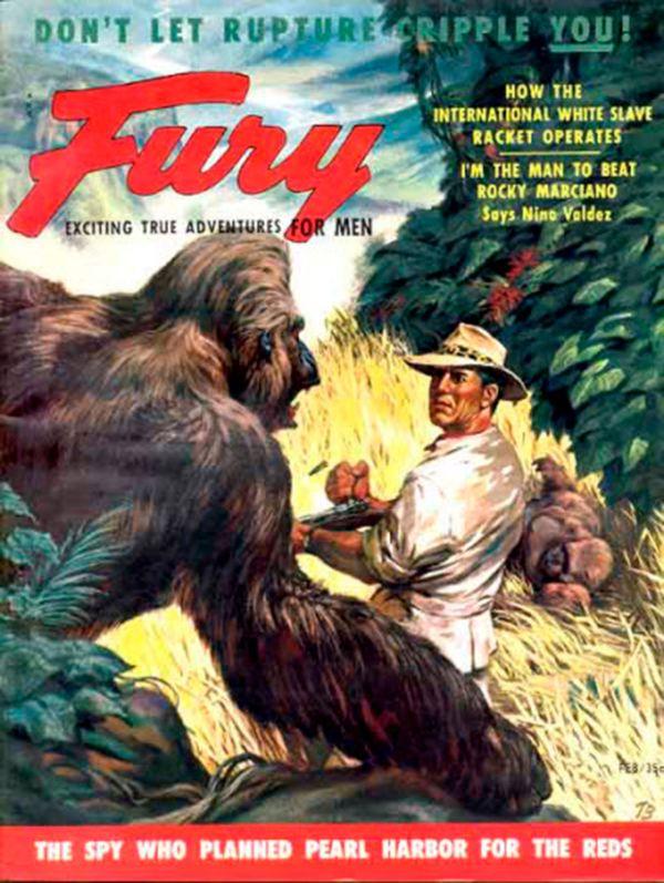 Fury magazine February 1955