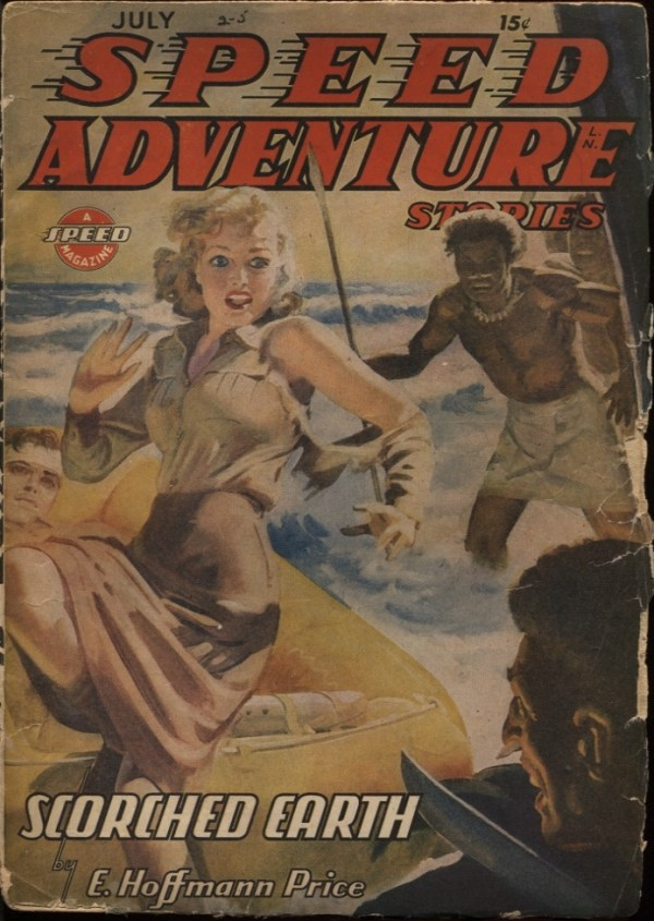 Speed (Spicy) Adventure Stories. 1944 July