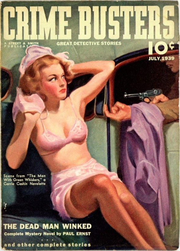 Crime Busters July 1939
