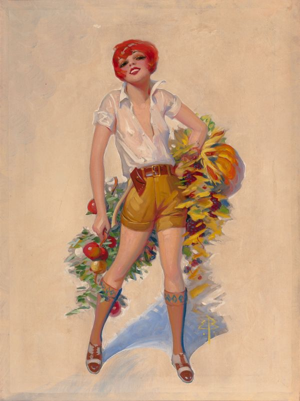 Film Fun magazine cover, November 1925