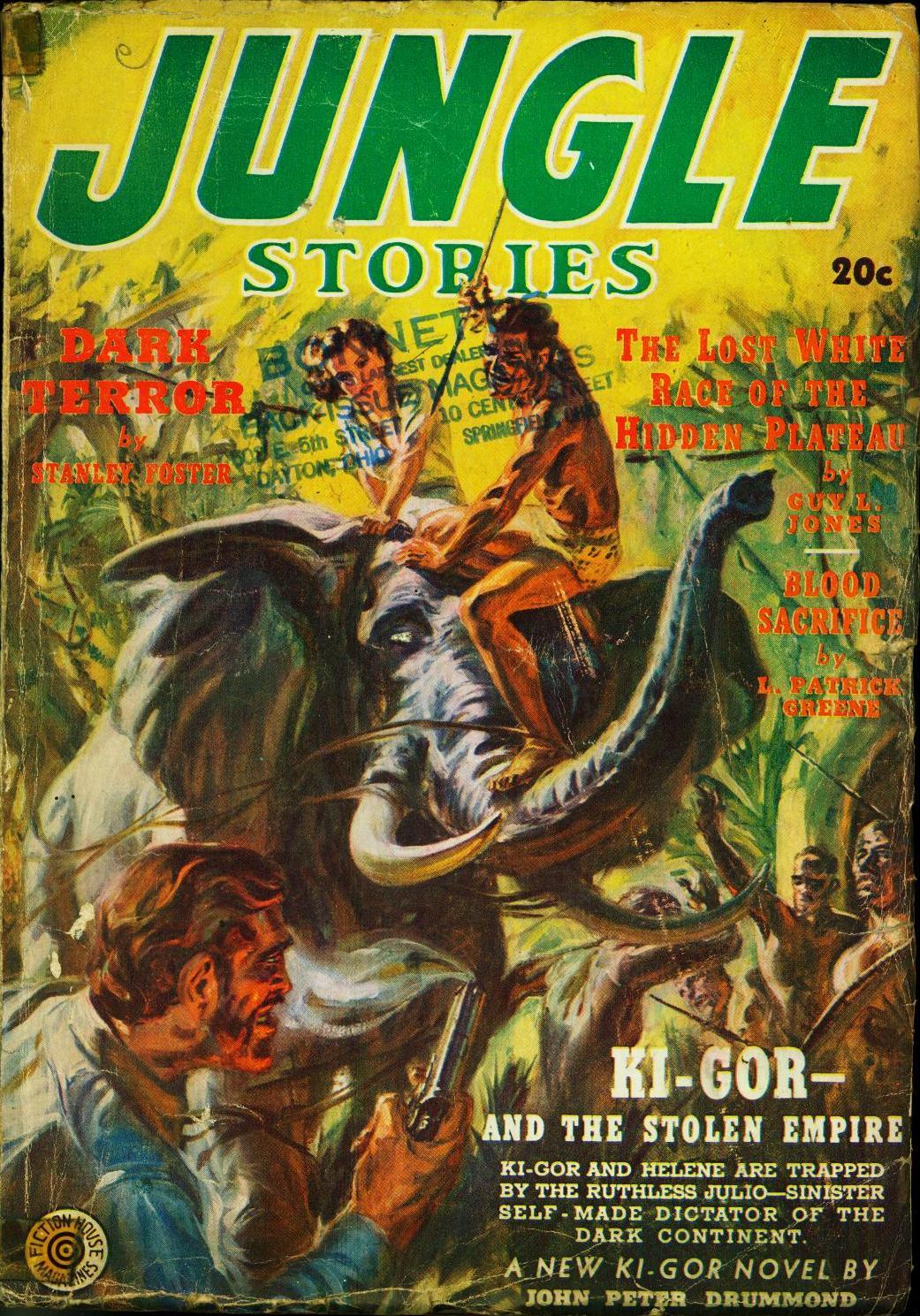 Cover Jungle Magazine Man
