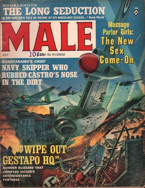 Male Magazine July 1964